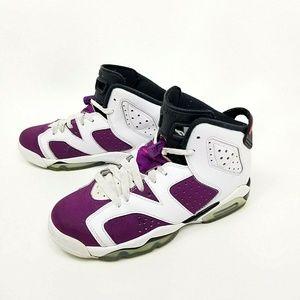 Nike Air Jordan Retro 6 Grapes Youth Size 4.5Y